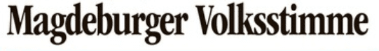 Logo Magdeburger Volksstimme