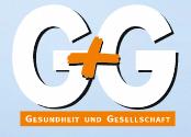 Logo Gesundheit und Gesellschaft